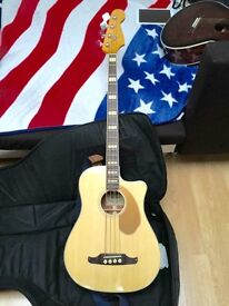 Acoustic Guitar Bass Fender Kingman California Series by Fender