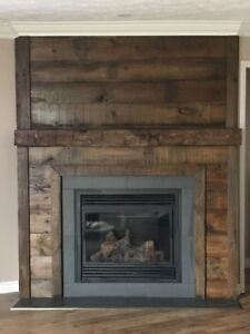 Reclaimed barn board