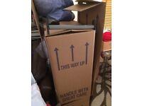 Wardrobe boxes moving house temporary wardrobe