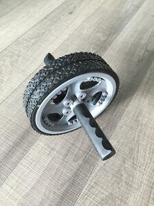 Energetics Duo Exercise Wheel & dumbells