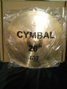 Brand new Wuhan 457 cymbal set still in package