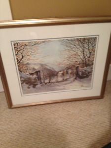 Framed Print - First Snow by Peter Robson