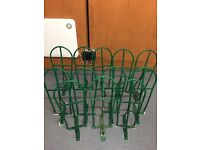 12 Saddle Racks and Bridle Hooks. For sale as whole or individually
