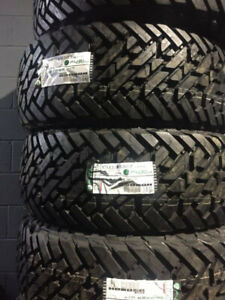 BRAND NEW FUEL GRIPPERS M/T 37/13.5/20 10 PLY TIRE ALL SEASON