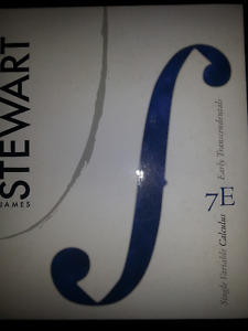 James Stewart Single variable calculus 7E Early Transcendentals