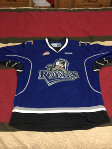 AHL, WHL hockey jerseys, Manitoba Moose, Victoria Royals
