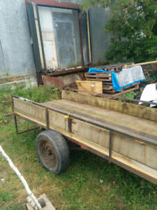 2007 Utility Trailer New Deck Fenders and Lights
