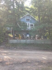 Lake view cabin for sale at Whitebear Resort