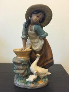 Statuette en porcelaine Lladro / Lladro porcelain sculpture