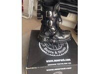 Size 5 New Rock Boots