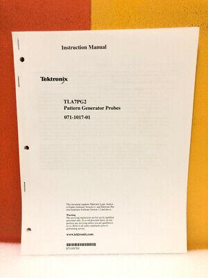 Tektronix 071-1017-01 Tla7pg2 Pattern Generator Probes Instruction Manual