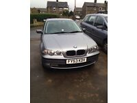 Bmw 318 ti se compact spares or repairs