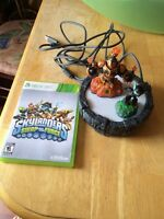 Skylanders Swap force Xbox 360- game, portal and 2 figurines