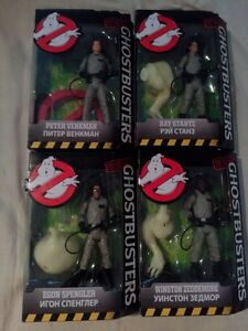 """Classic Ghostbusters Figures 6"""" - Full Set - Build a figure"""