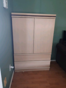 Armoire with shelves and drawers -need gone - make me an offer