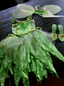 costume Disney fée Clochette tinkerbell Tiana