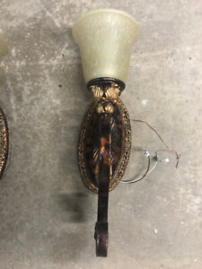 Ornate wall sconces for sale