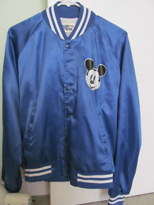 VINTAGE MICKEY MOUSE SATIN JACKET- GOING TO DISNEYLAND?