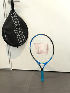 """Wilson jr. Federer 23"""" racquet— great for learning the game!"""