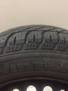 Winter tires and rims - brand new - Goodyear 195 / 65/15