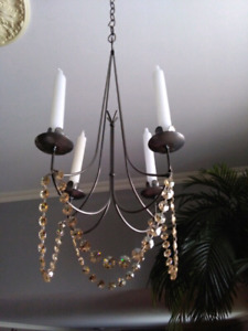 Candle chandelier light lamp