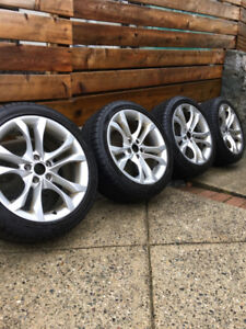 AUDI OEM  Rims with tires