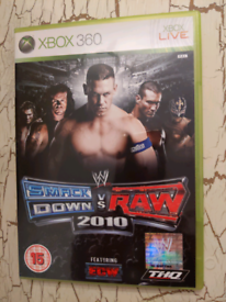 Xbox 360 WWE Smackdown Vs Raw 2010