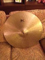 """20"""" Zildjian Kerope Cymbal-1858 grams-EXCELLENT CONDITION"""