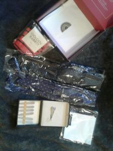 New Gentlemen's Accessories in box..today $15!
