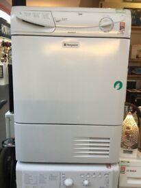 Hotpoint white Aquarius Condenser tumble dryer