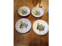 Teenage mutant ninja turtles plate,mug and bowl set