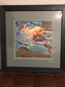 DUCKS UNLIMITED LIMITED EDITION PRINT OAKLEYS FIRST SWIM