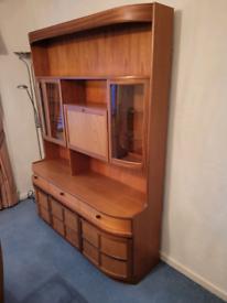Teak Display Cabinet / Side Board