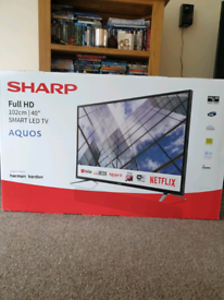 "Sharp Full HD LED 40"" TV"