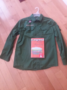 Scout Handbook and Shirt-like new
