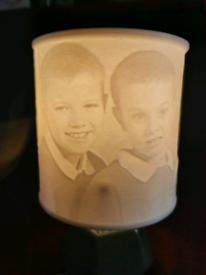 Personalised Lamp, Lithophane, Gift, Memory, Portrait