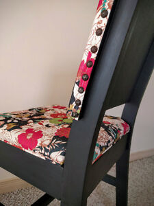 Shabby chic : dinner or desk chair / chaise à diner ou de bureau