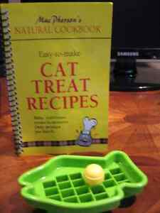 Cat Treat Recipe Cookbook and Cookie Cutter Very Cute!!!