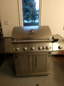 Master Forge 5-Burner Gas Grill with Tank
