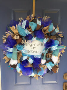 Hanging WIth My Gnomies Wreath