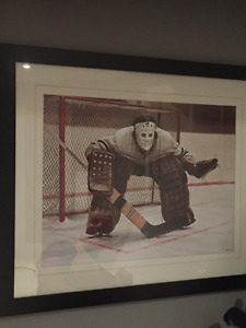 Ken Danby framed hockey print
