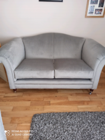 Sofa grey velvet