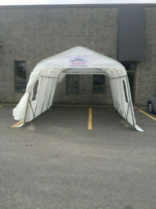 À vendre Abri Auto 12 ' Style tempo- 12' Car shelter for sale