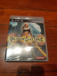 PS3 Brand New Game: Blades of Time