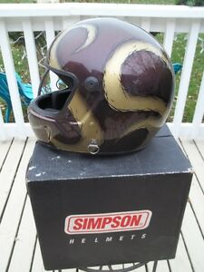 Simpson XX Large Snell SA 2005 Brand New - Never worn