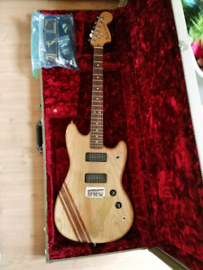 Limited edition fender mustang