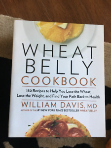 WHEAT BELLY COOKBOOK by William Davis, MD