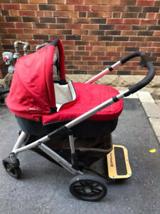 For Sale - 2011 Uppababy Vista Baby Stroller and Accessories