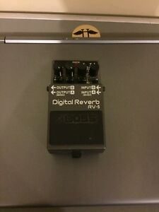 Boss RV5 digital reverb (REDUCED)