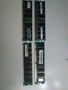 3x256MB/1x128MB Of ram for $10 thay are all PC-133